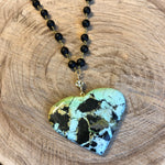 Turquoise Heart VIII Necklace