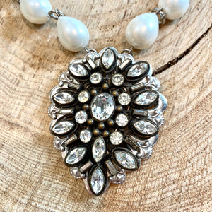 Diamonds & Pearls Necklace