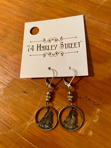 Mercury Dime Earrings