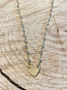 Golden Heart III Necklace