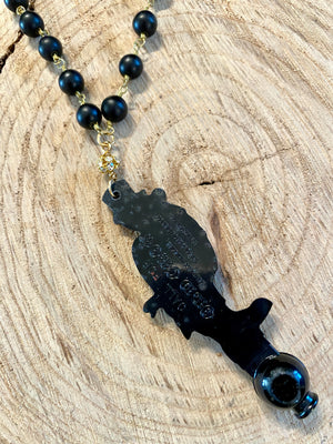 Old Crow Dialer Necklace