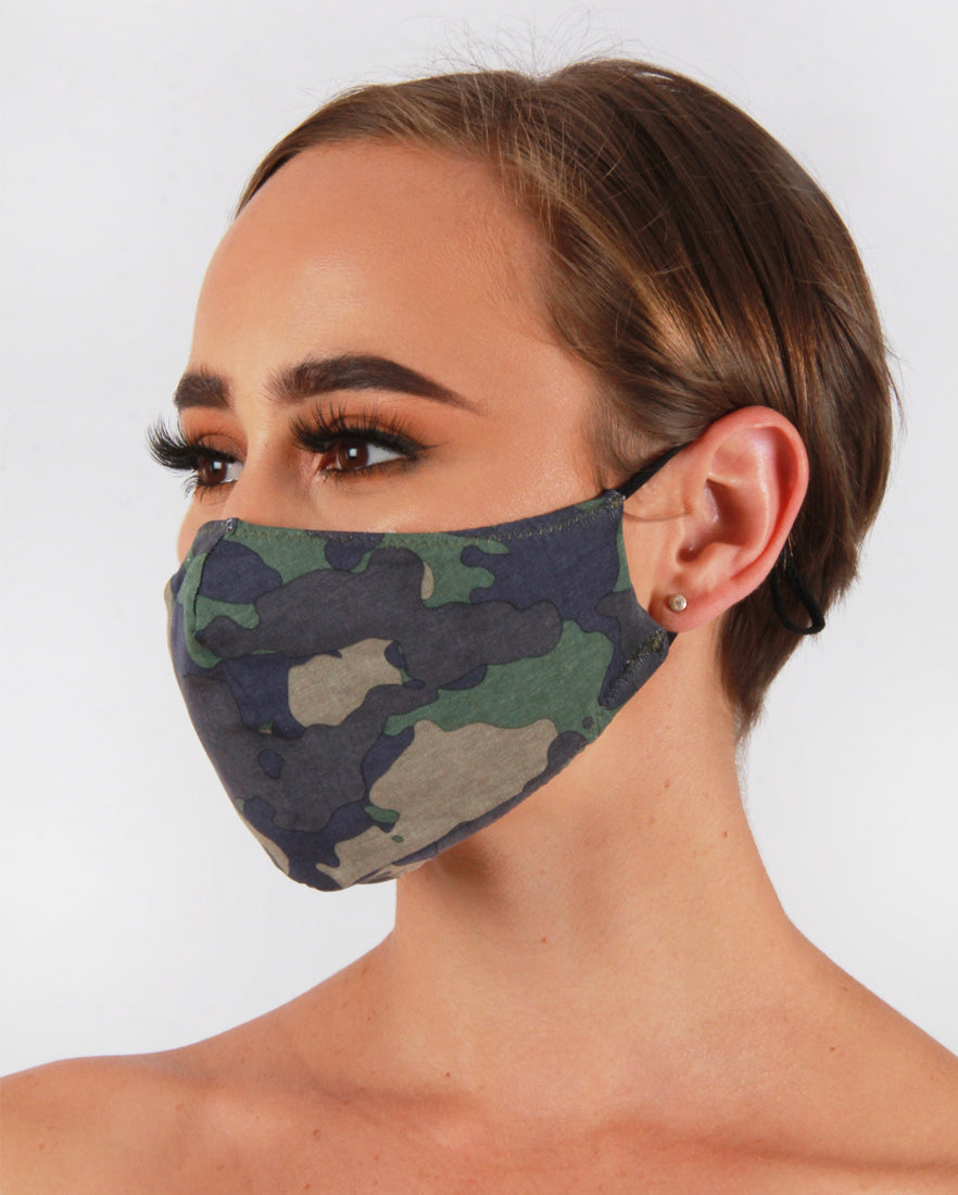 Camo Fashion Face Mask
