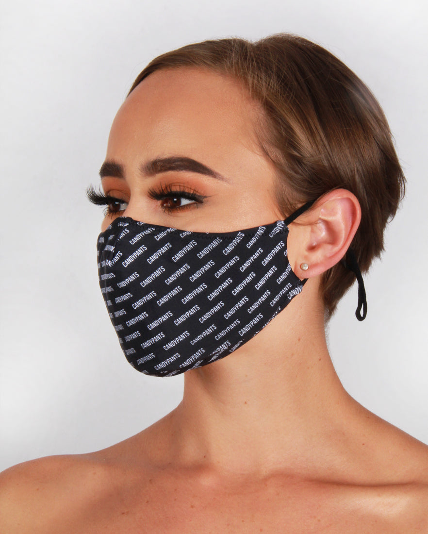 Candypants All Over Print Fashion Face Mask