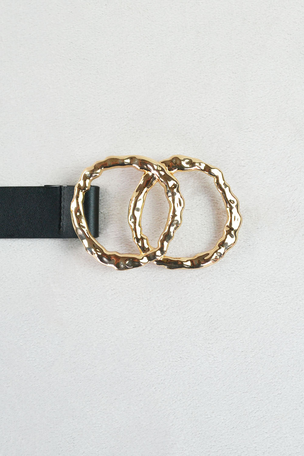 Hammered Double Circle Belt