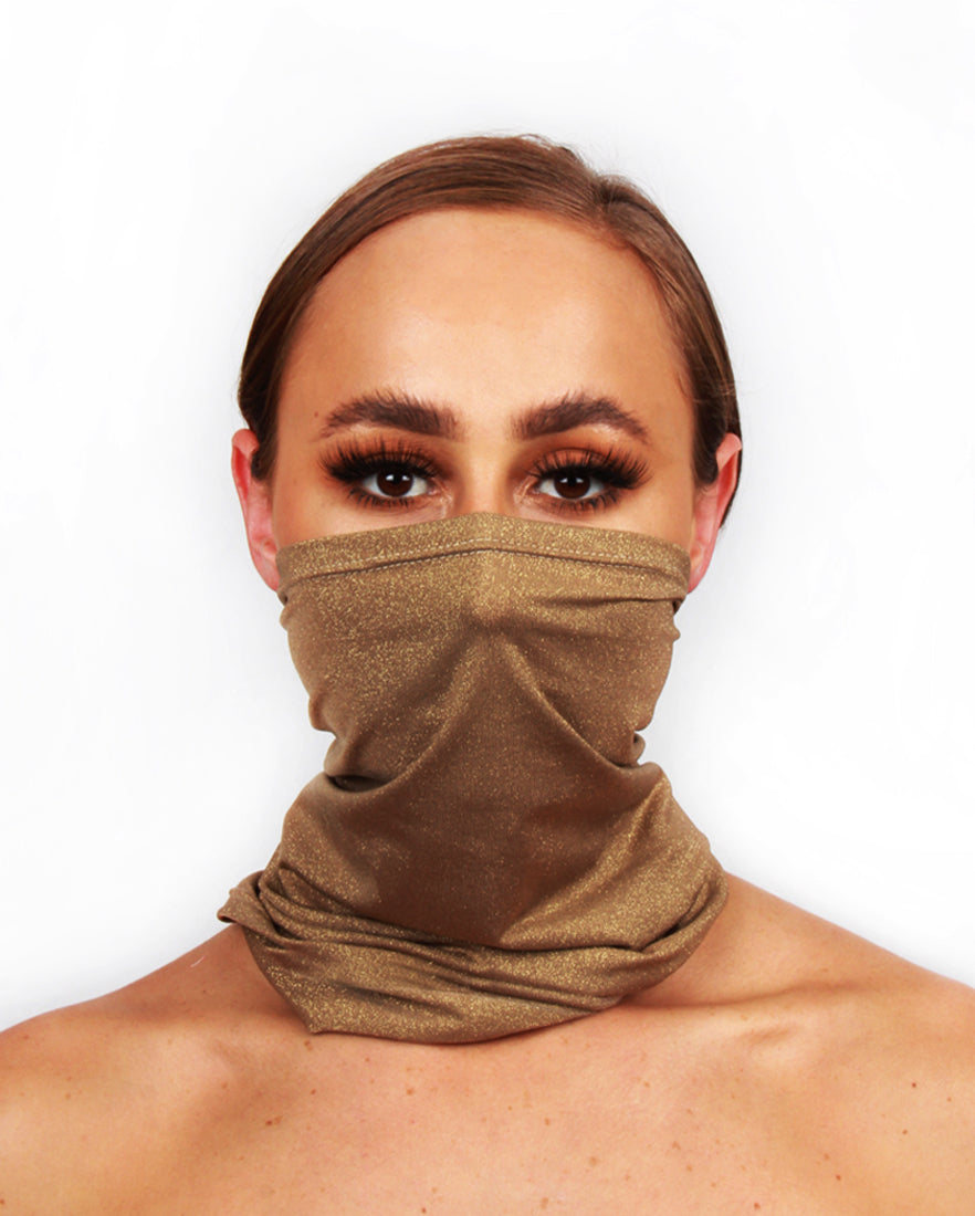 Gold Glitter Snood