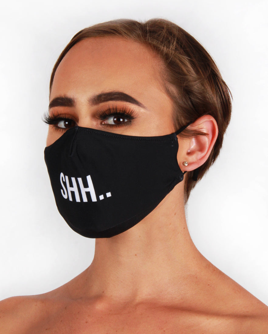 SHH.. Fashion Face Mask