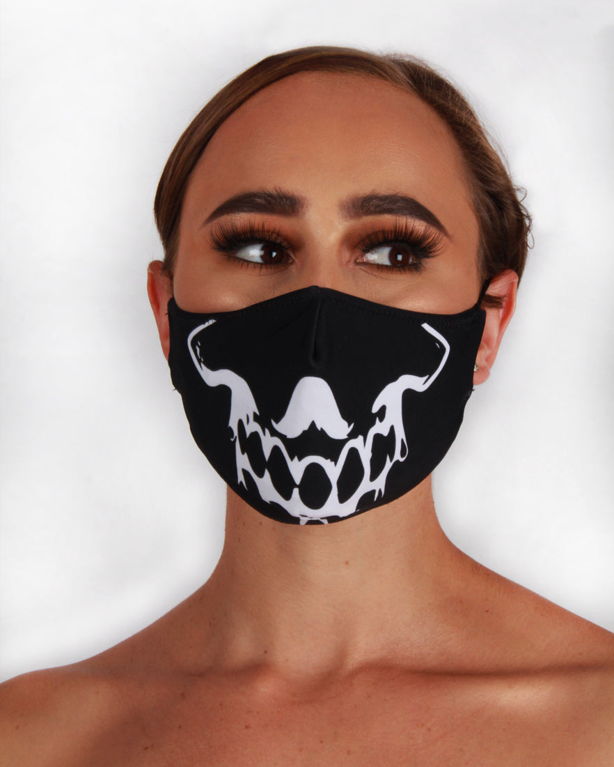 Skull Fashion Face Mask
