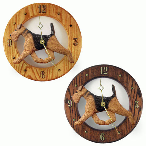 Airedale Wall Clock