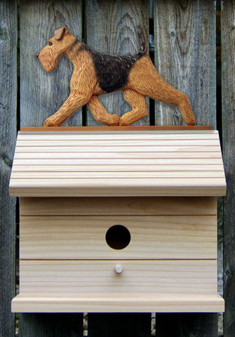 Airedale Bird Houses