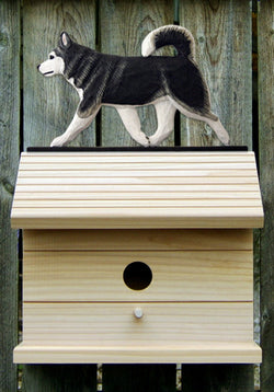 Alaskan Malamute Bird House
