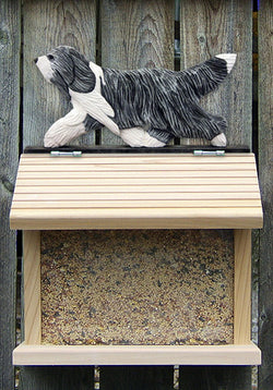 Bearded Collie Bird Feeder