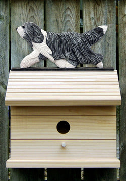 Bearded Collie Bird House