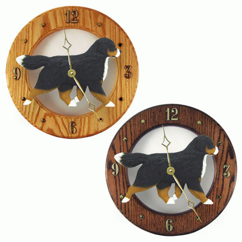 Bernese Mt. Dog Wall Clock