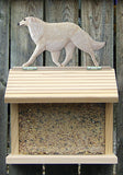 Borzoi Bird Feeder