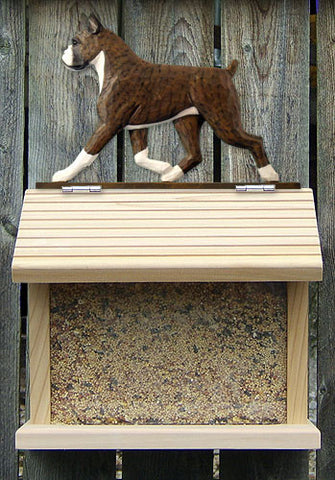 Boxer Dog Bird Feeder