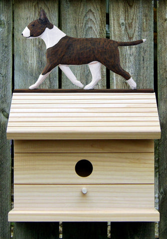 Bull Terrier Bird House