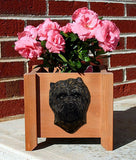 Cairn Terrier Planter Box