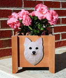 Chihuahua (Long-haired) Planter Box