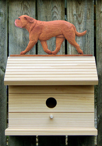 Dogue de Bordeaux Bird House
