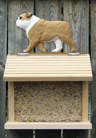 English Bulldog Bird Feeder