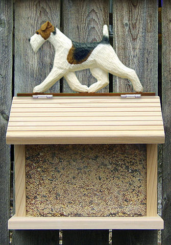Fox Terrier (Wire) Bird Feeder
