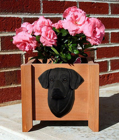 Labrador Retriever Planter Box