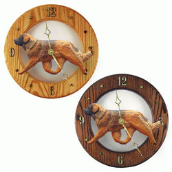 Leonberger Dog Wall Clock