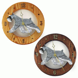 Schnauzer (Miniature) Wall Clock