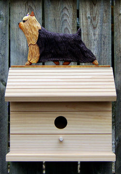 Yorkshire Terrier Bird House