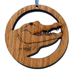 4 inch Alligator Laser-etched Ornament