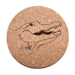 Alligator Cork Trivet