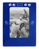 "Blue Australian Shepherd 4"" x 6"" Magnetic Photo Frame (Vertical/Portrait)"