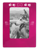 "Pink Australian Shepherd 4"" x 6"" Magnetic Photo Frame (Vertical/Portrait)"
