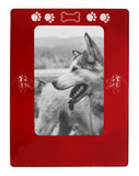 "Red Australian Shepherd 4"" x 6"" Magnetic Photo Frame (Vertical/Portrait)"
