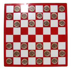 Fancy Ball Python Checkers Set