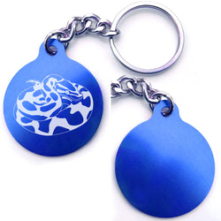 Ball Python Snake Key Chain