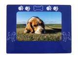 "Blue Beagle 4"" x 6"" Magnetic Photo Frame (Horizontal/Landscape)"