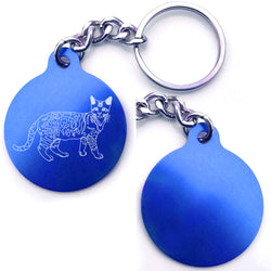 Bengal Cat Key Chain