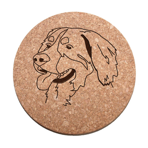 Bernese Mtn. Dog Cork Trivet