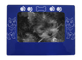 "Blue Cairn Terrier 4"" x 6"" Magnetic Photo Frame (Horizontal/Landscape)"