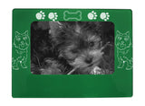 "Green Cairn Terrier 4"" x 6"" Magnetic Photo Frame (Horizontal/Landscape)"