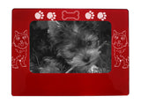 "Red Cairn Terrier 4"" x 6"" Magnetic Photo Frame (Horizontal/Landscape)"