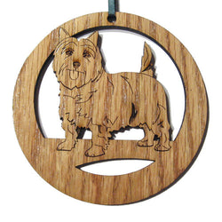 4 inch Cairn Terrier Laser-etched Ornament