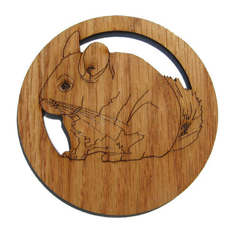 2.5 inch Chinchilla Magnet