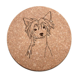Chinese Crested Cork Trivet