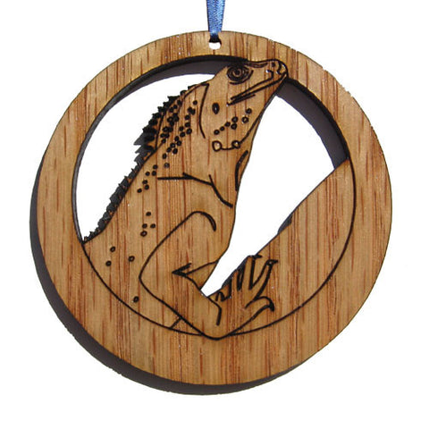 4 inch Chinese Water Dragon Laser-etched Ornament