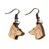 Dog & Cat Dangle Earrings