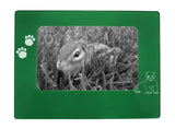 "Green Ferret 4"" x 6"" Magnetic Photo Frame (Horizontal/Landscape)"