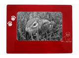 "Red Ferret 4"" x 6"" Magnetic Photo Frame (Horizontal/Landscape)"