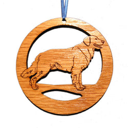 4 inch Golden Retriever Laser-etched Ornament